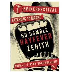 Poster spikerfestival 2020
